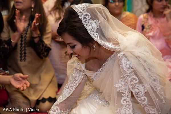 Indian bride looking dazzling