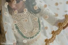 Maharani's veil details