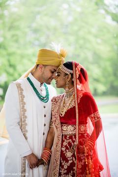 Maharani and Raja's romantic moment