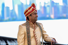 Charming Indian groom photography.
