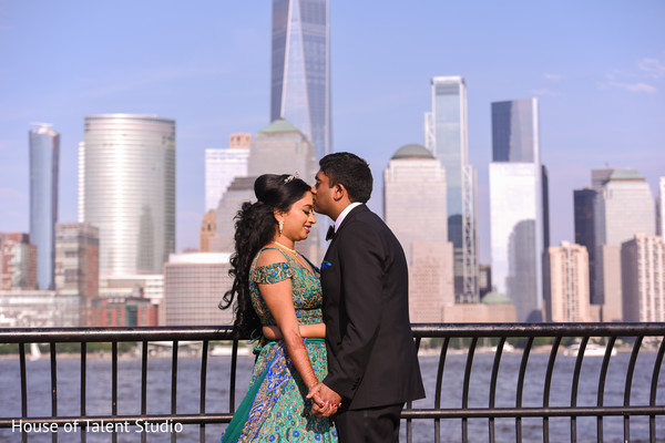 Outdoor themed Indian couple's photo session.