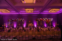 Incredible Indian wedding lights decor.