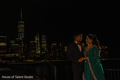 Lovely indian couple photo session.