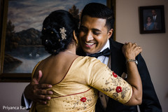 Indian groom and special family guest