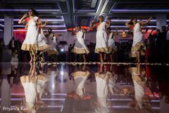 Maharanis during the amazing choreography