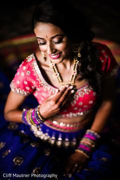 Flawless maharani's makeup.