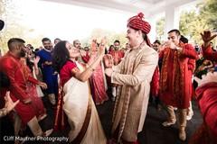 Upbeat indian wedding baraat