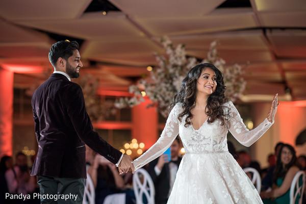 Maharani having a blast at the reception