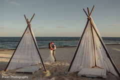 Sensational outdoor themed indian couple's photo shoot