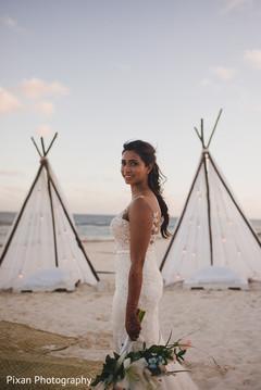 Beach themed bride capture.