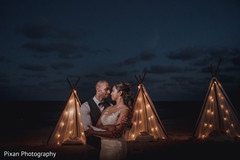 Most romantic beach side photoshoot.