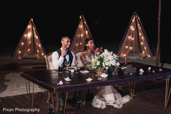 indian bride,indian groom,indian wedding reception,speech