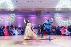 Indian bride and Raja's choreography