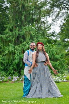 Indian couple looking amazing