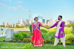 Maharani and Raja looking dazzling