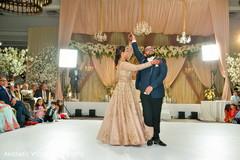 Maharani and Raja performing their dance