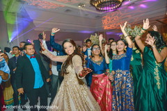Maharani having a blast dancing with guests