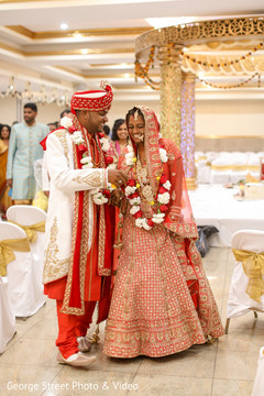 Fun and loving indian couple capture