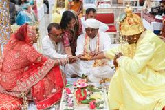 Lovely indian wedding ceremony