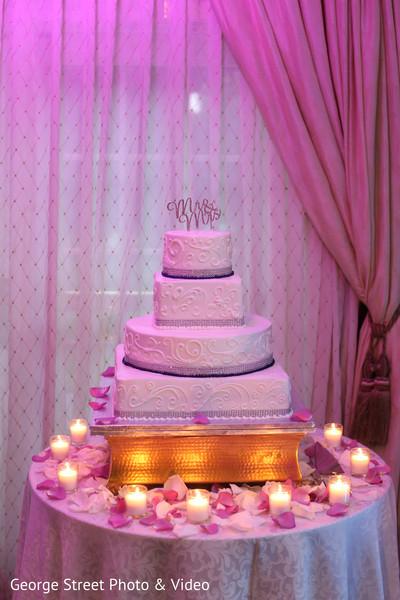 Lovely indian wedding cake