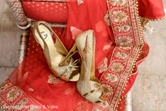 Indian bride trousseau