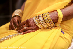 Beautiful golden bangles