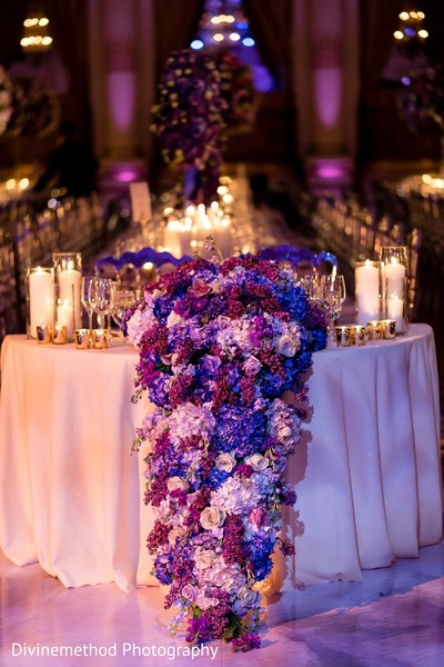 Amazing floral arrangement of the ceremony