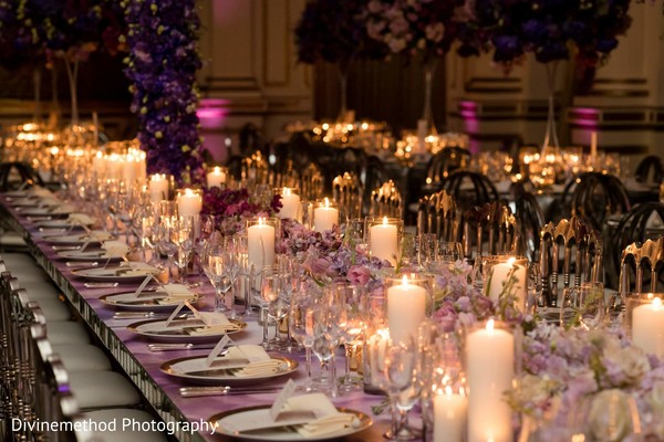 Gorgeous table setup for the guests