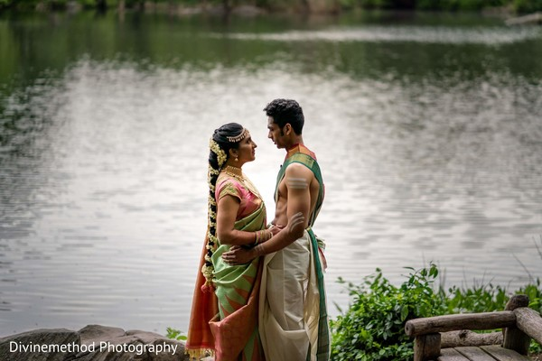 Gorgeous shot of Indian couple