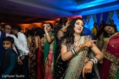 Maharani enjoying the music