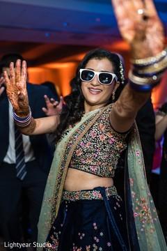 Beautiful Maharani during the reception