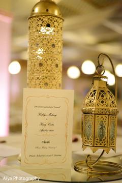 Elegant Indian wedding decoration.