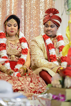Stunning indian wedding ceremony.
