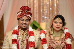 Joyful Indian couple portrait.