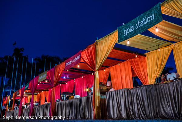 Stunning Sangeet gola station setup.