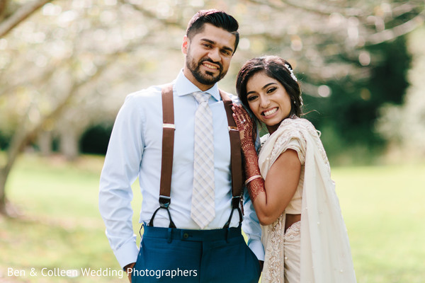 Insanely cute Indian couple's photo session.