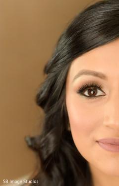 Indian bridal flawless makeup.