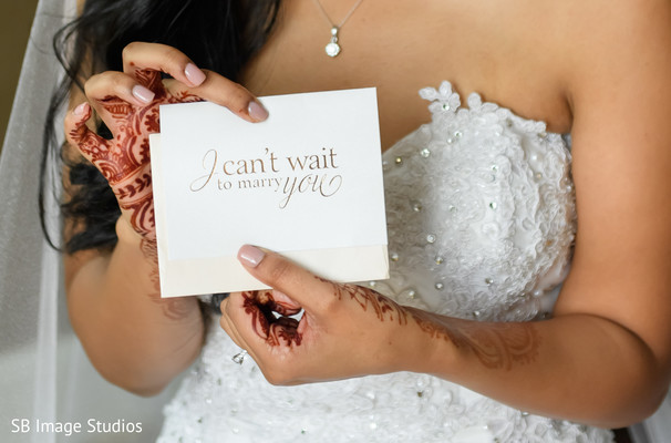 I can't wait to marry you letter from Indian groom.