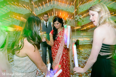 Phenomenal indian bride with bridesmaids dance.