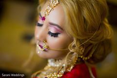 Dazzling Maharani's makeup
