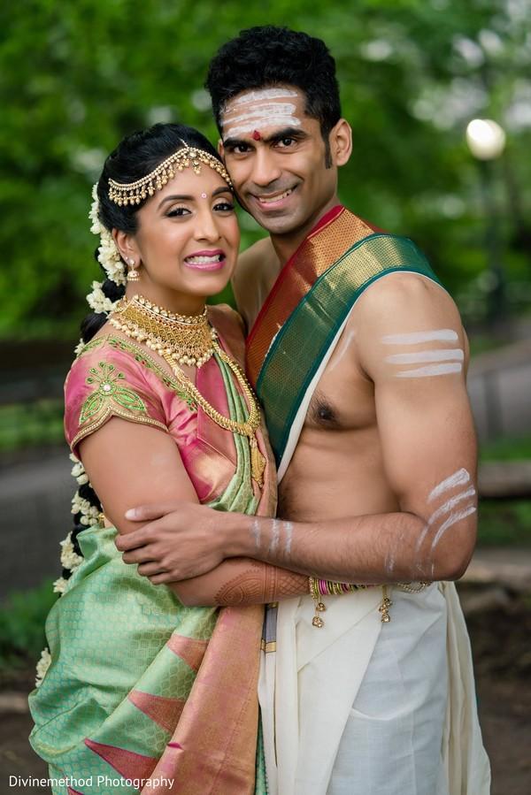 Bride and groom looking fantastic