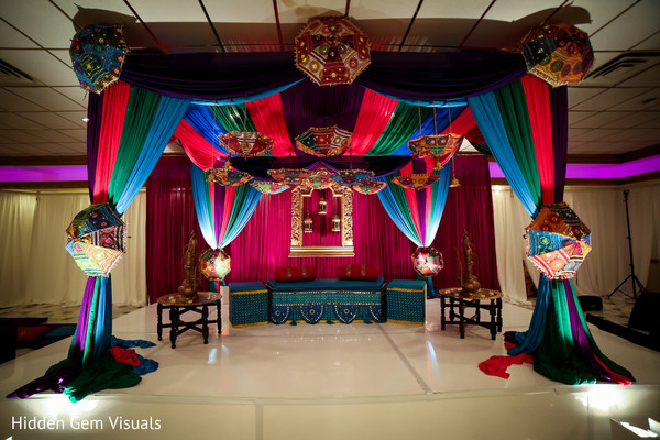 See this Indian wedding decor details