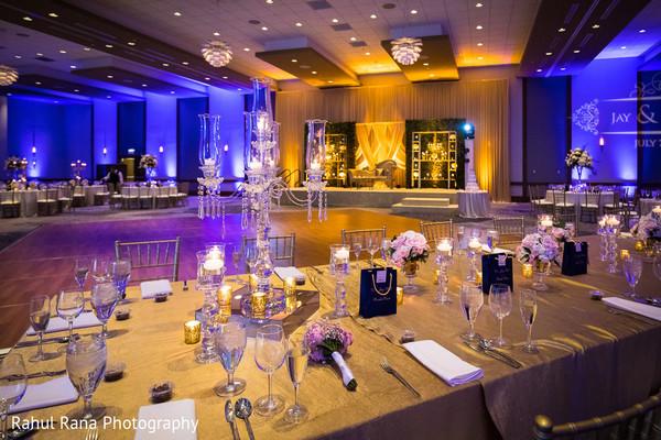 Inspiring Indian wedding table decor.