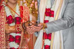 Maharani and Raja during the rituals