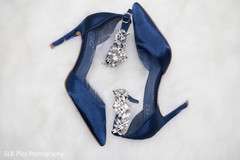 Beautiful shoes used by bride
