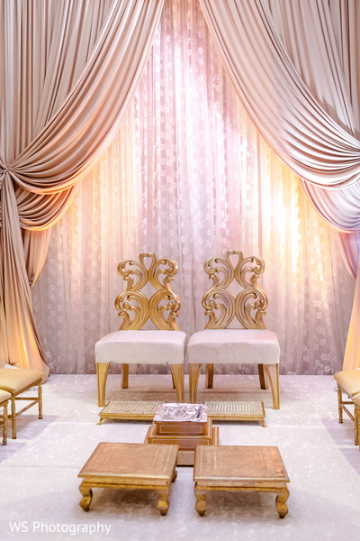 Dreamy mandap decoration.