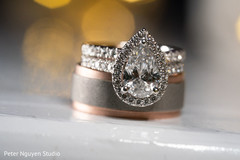 Stunning stone on maharani's engagement ring.
