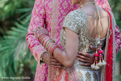 Closeup capture of Indian couple hug.