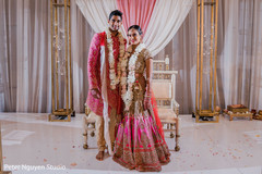 Marvelous capture of Indian couple at ceremony.