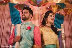 Indian love birds pre-wedding photo.